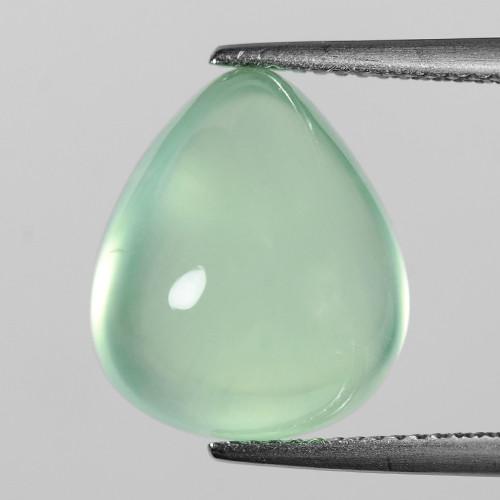 Green Prehnite 13.06 Cts Amazing Rare Natural Loose Gemstone