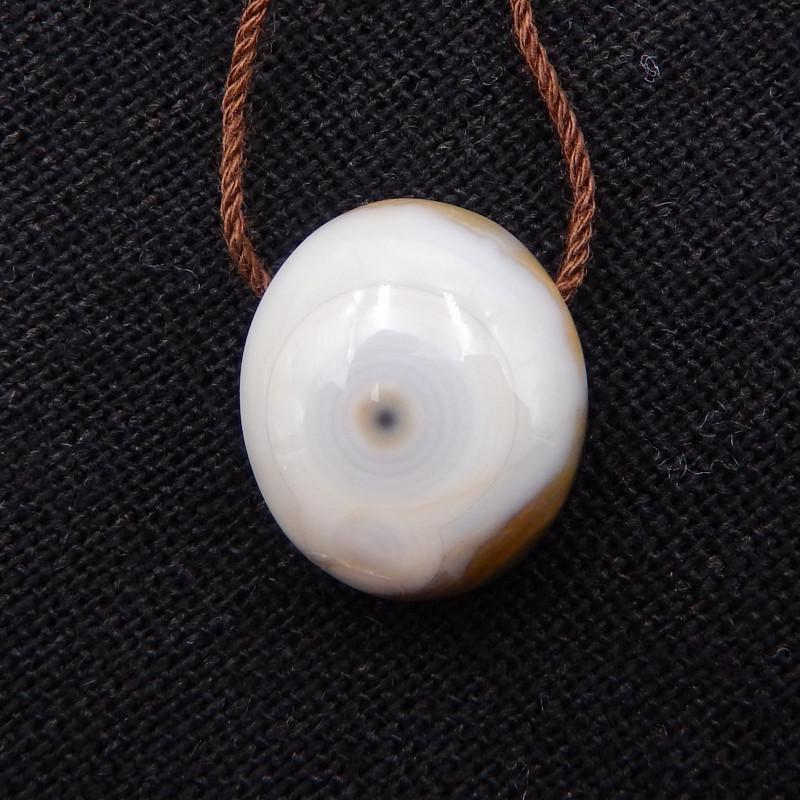 15.5cts Natural Ocean Jasper  Pendant ,Handmade Gemstone  H849