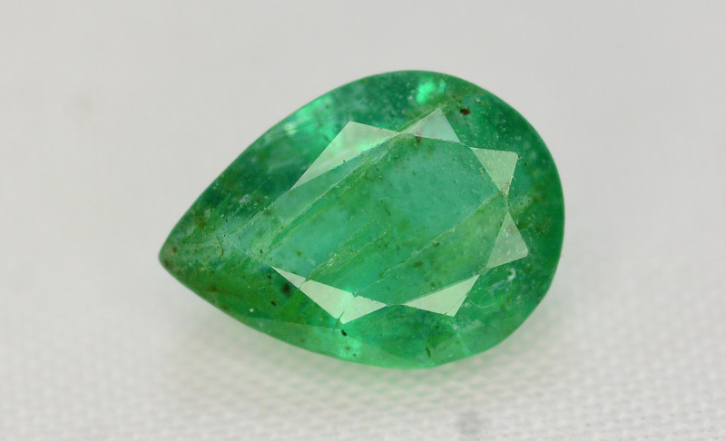 1.05 Ct Brilliant Color Natural Zambian Emerald
