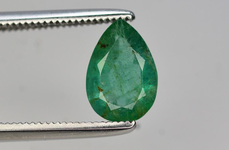 1.15 Ct Brilliant Color Natural Zambian Emerald