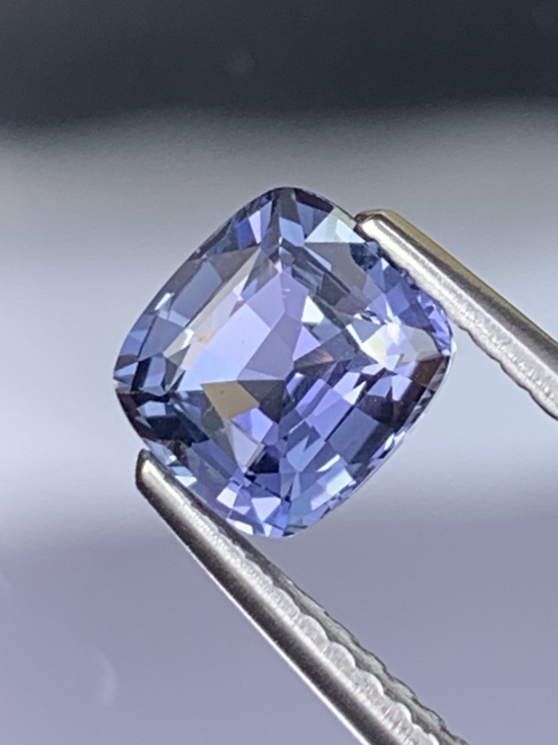 1.36 Cts Pale Cornflower Blue AAA Natural Sapphire Unheated Fine Luster