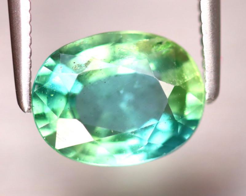 Apatite 2.07Ct Natural Paraiba Green Color Apatite DF1119/B44