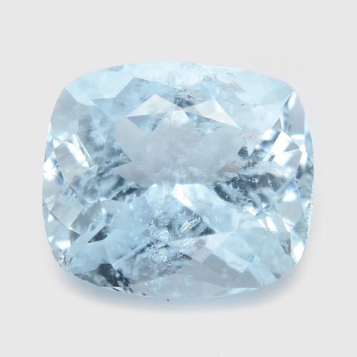 Aquamarine 1.55 Cts Un Heated Blue Natural Loose Gemstone