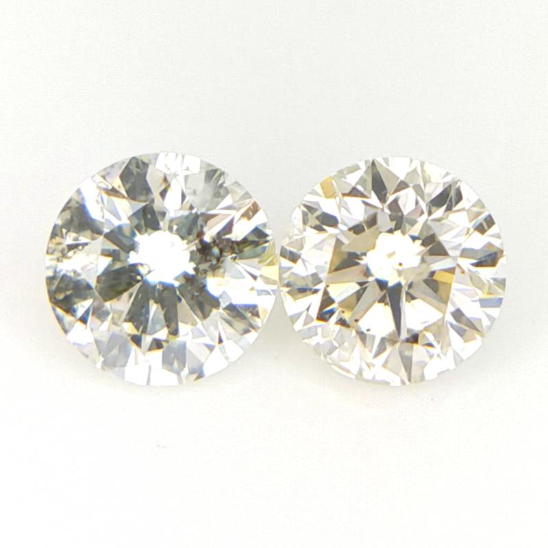 2/0.26 cts , Natural Round Diamonds , Diamonds For Jewlery