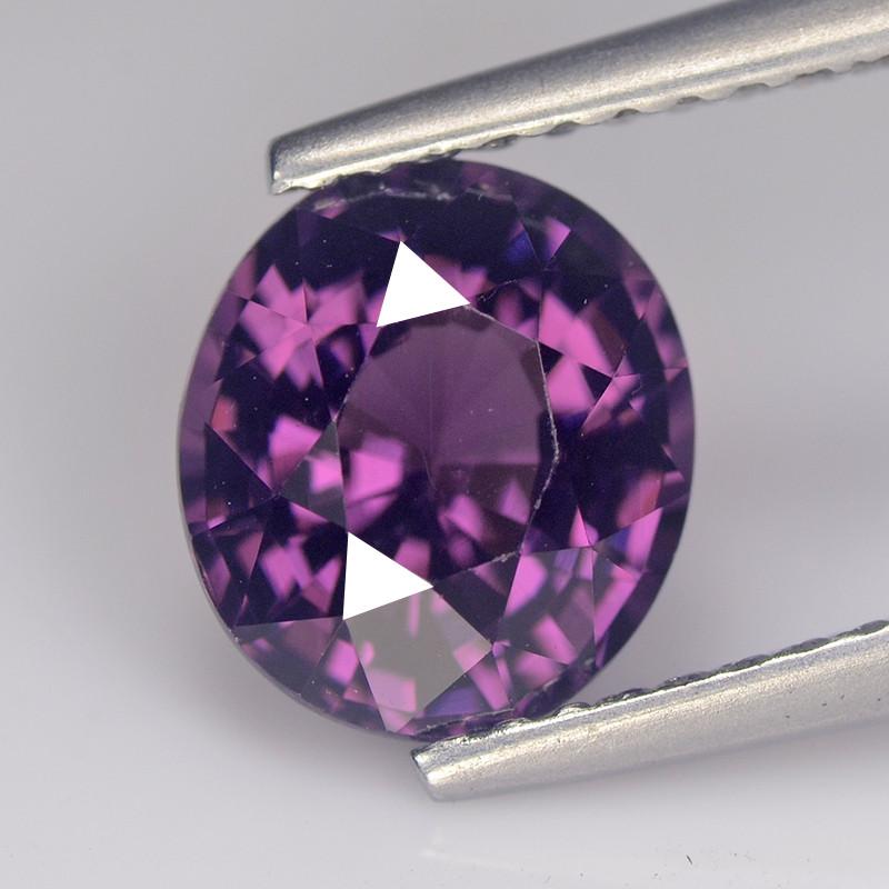 Spinel 2.07 Cts Purple Pink Step cut BGC1064