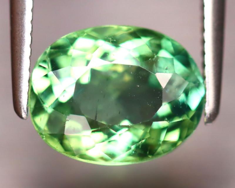 Apatite 2.12Ct Natural Green Color Apatite EF1219/B44