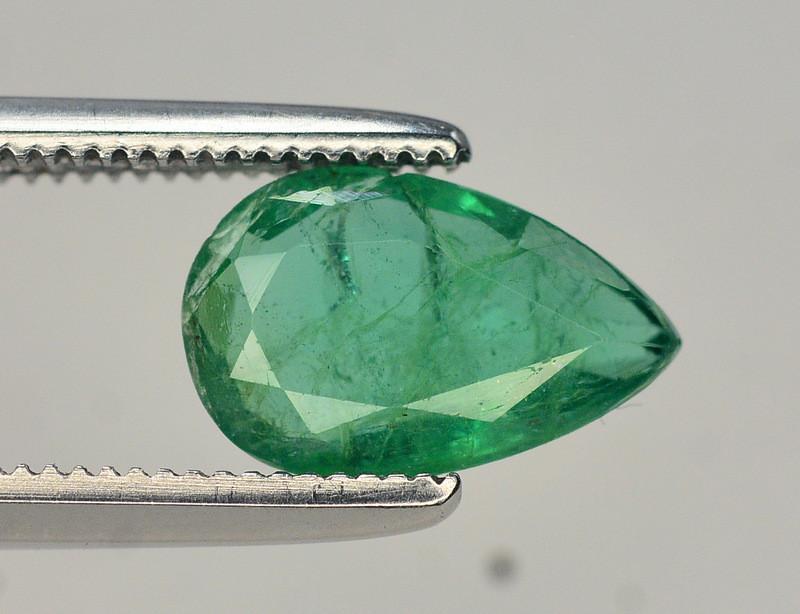 1.05 Ct Natural Zambia Emerald Gemstone