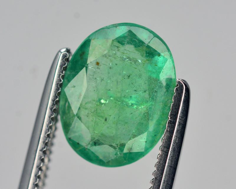 1.20 Ct Natural Zambia Emerald Gemstone