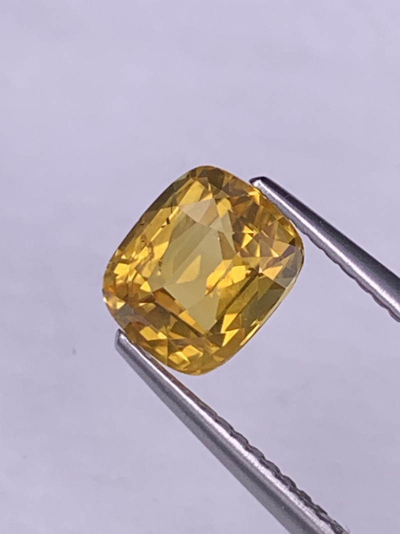 2.52 Cts Srilanka Fine Quality Canary Yellow Natural Sapphire