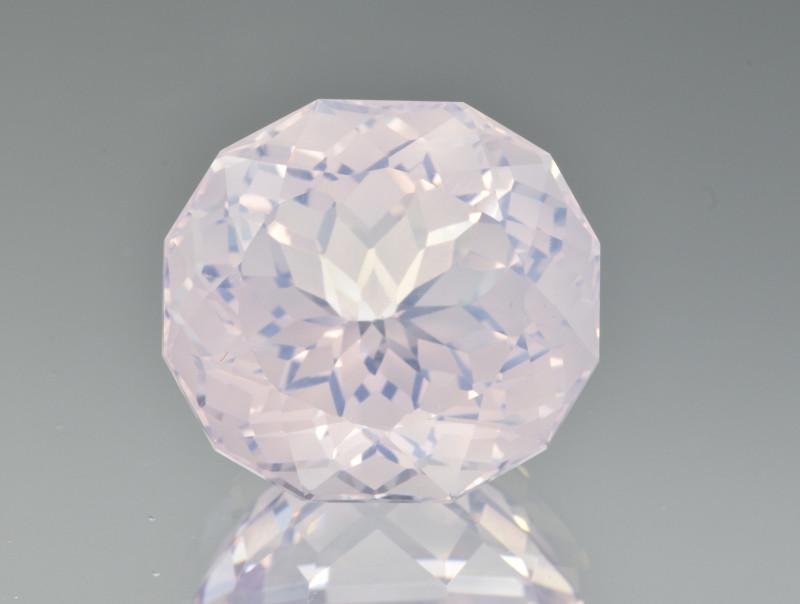Natural Lavender Quartz 16.62 Cts Precision Cut Gemstone
