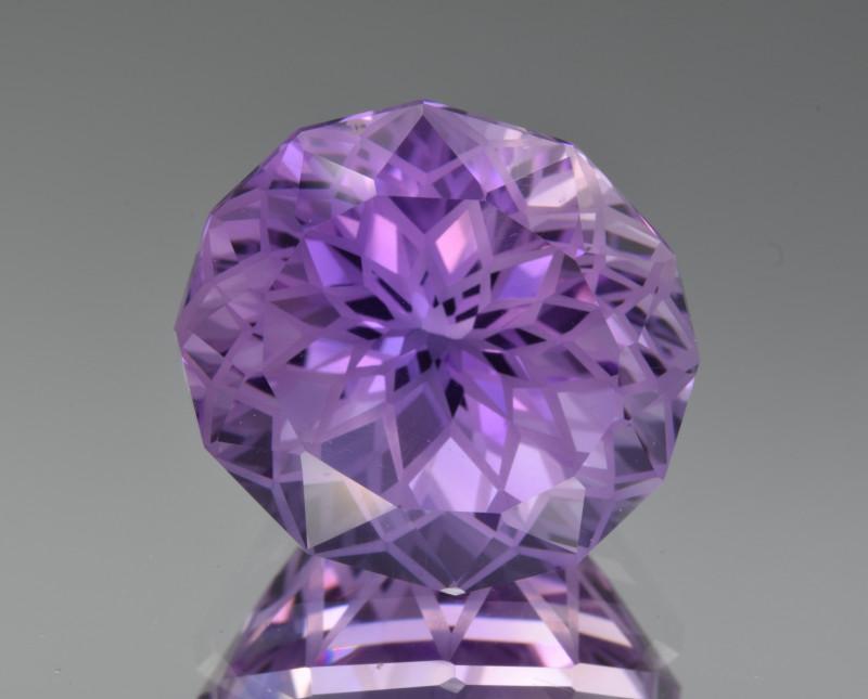 Natural  Amethyst 15.17 Cts Precision Cut Gemstone