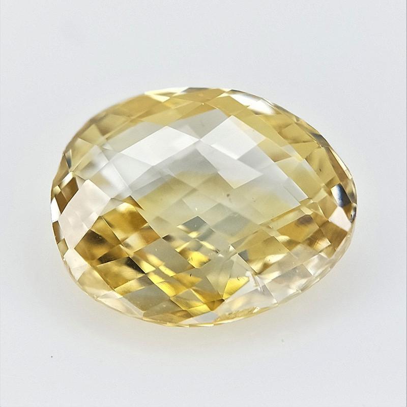 0.40 CT , Natural Yellow Diamond , Briolette Diamond