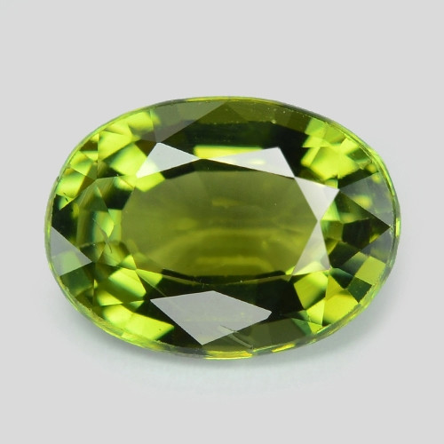 Tourmaline 1.05 Cts Un Heated Green Color Natural Loose Gemstone