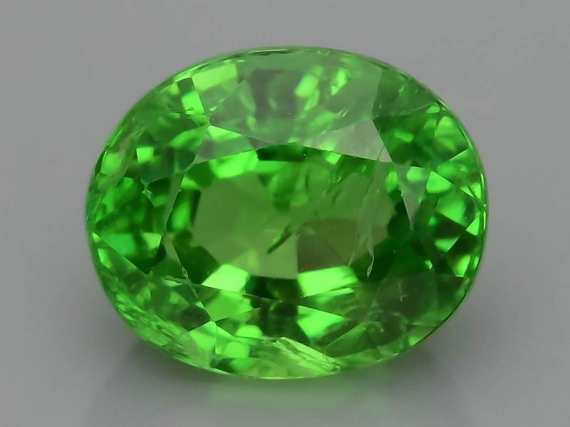 AAA Grade 1.31 ct Forest Green Tsavorite Garnet SKu-9