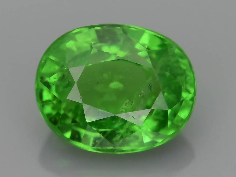AAA Grade 1.07 ct Forest Green Tsavorite Garnet SKu-9