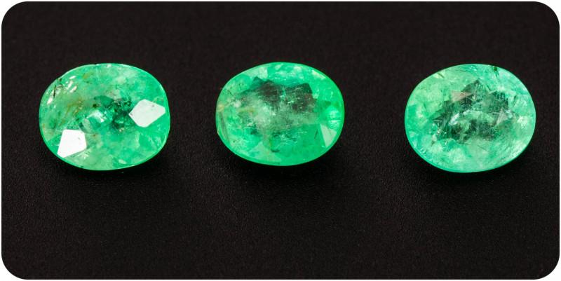 Emerald  1.07 ct Etiophia GPC Lab