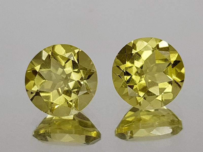 3.55Crt Lemon Quartz Natural Gemstones JI21
