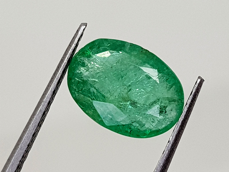 1.61Crt Natural Emerald  Natural Gemstones JI21