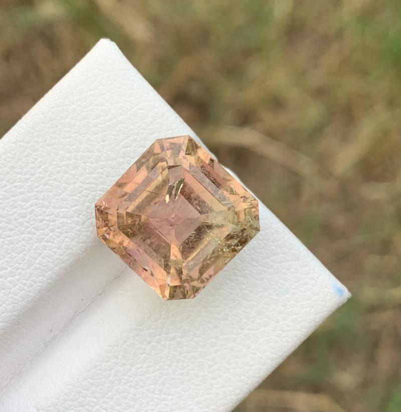 11 cts  Asscher Cut Tourmaline gemstone from Afghanistan