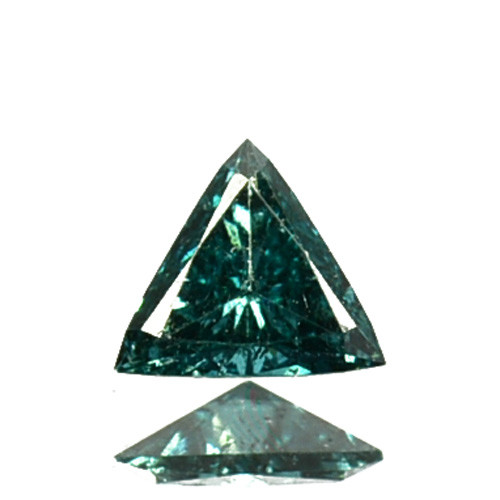 0.07Cts Natural Diamond Flashing Blue Fancy 2.90mm   Africa
