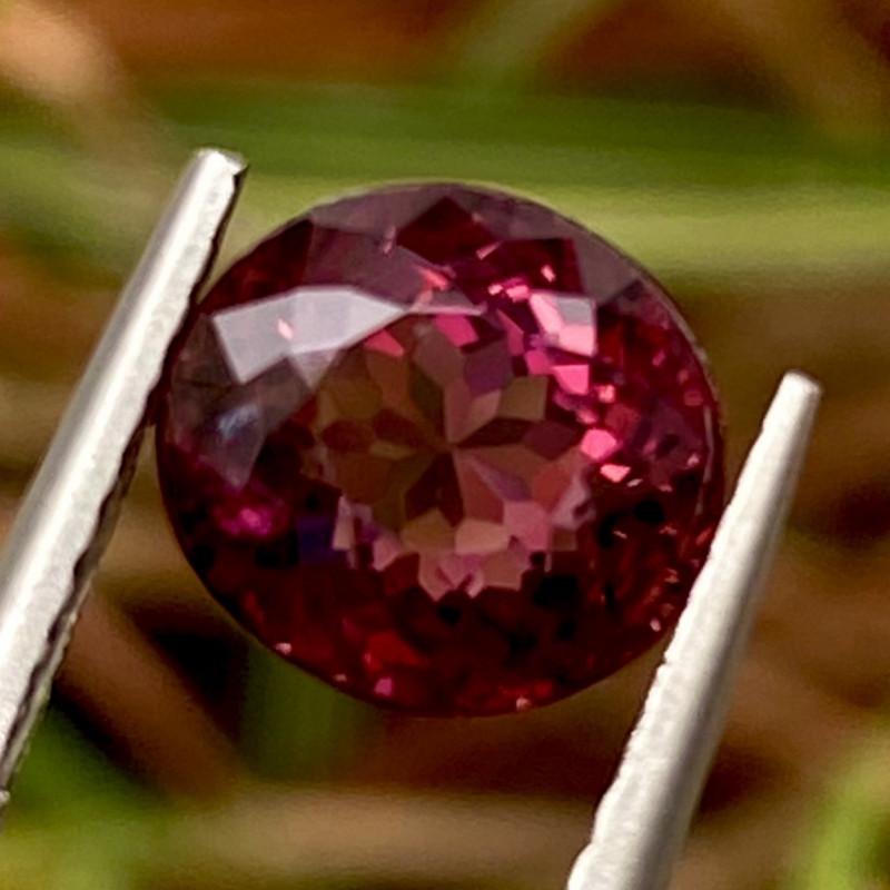 2.01 ct Red Tourmaline  With Fine Cutting Gemstone