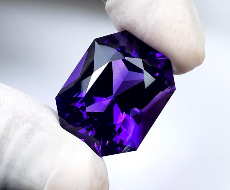 Amethyst, 43.05 Cts Natural Top Color & Cut Amethyst Gemstones