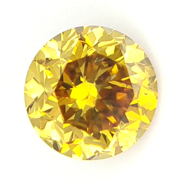 0.41 cts ,Fancy Colored Diamond ,Rare Natural Colored Diamond