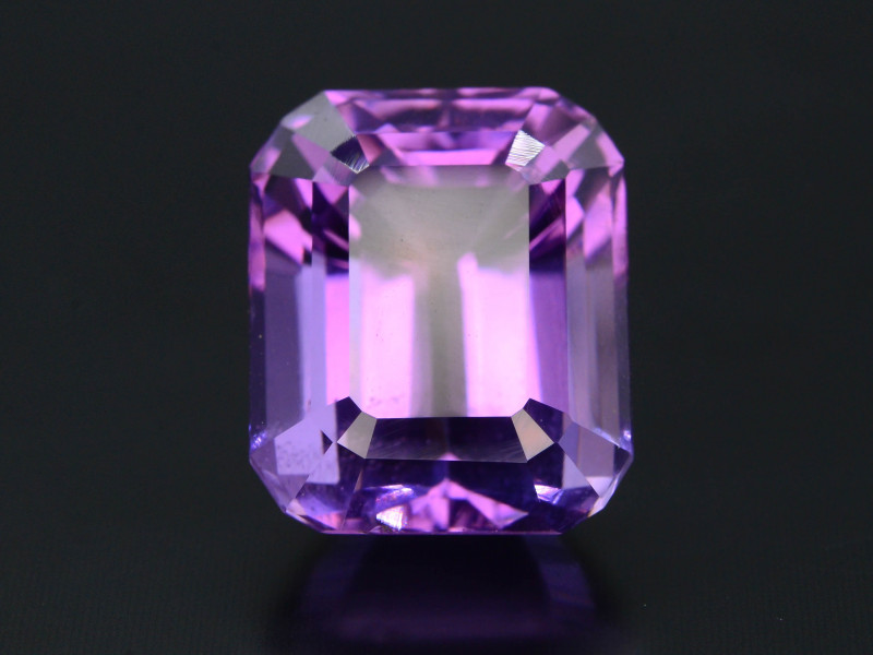 Rich Purple 10.80 Ct Natural Ascher Cut Amethyst ~ Nigeria