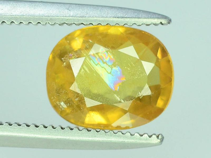 Top Clarity & Color 1.65 ct Rarest Yellow Sapphire~ Sri Lanka
