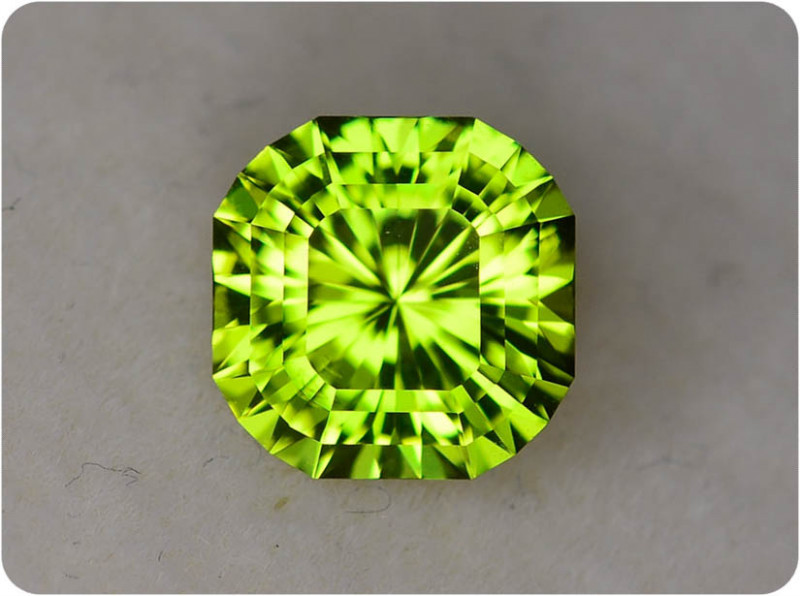 Peridot 2.22 ct Pakistan GPC Lab