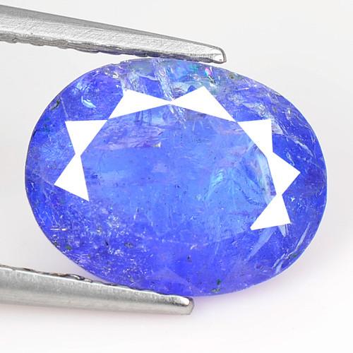 1.98 Cts Amazing rare Violet Blue Color Natural Tanzanite Gemstone