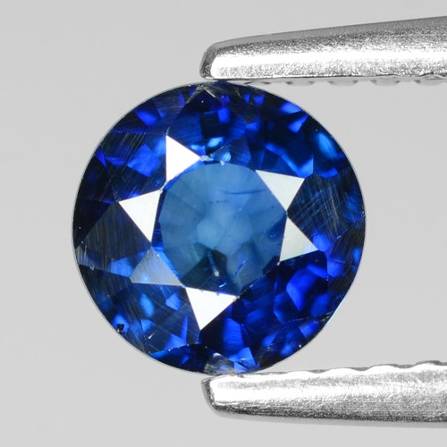0.97 Cts Amazing Rare Natural Fancy Blue Sapphire Loose Gemstone