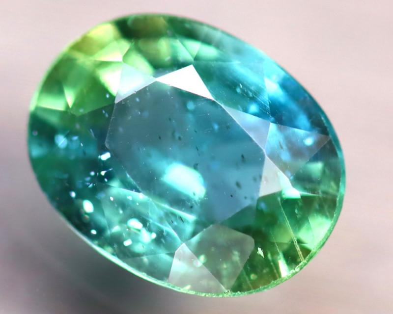 Apatite 1.93Ct Natural Paraiba Green Color Apatite E1811/B44
