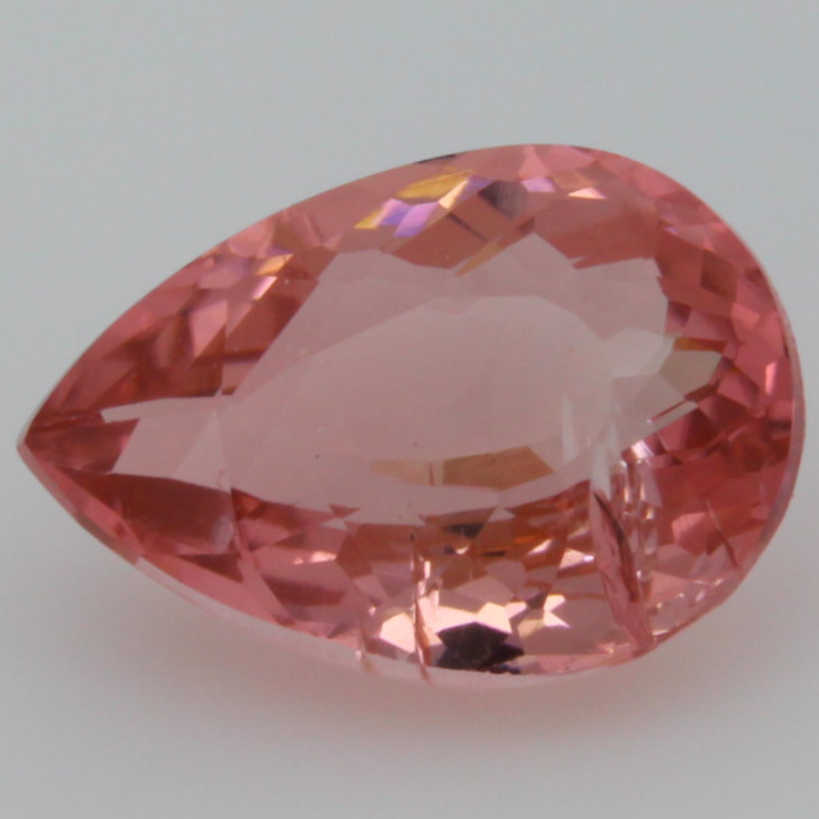 2.18 CT 10X7 MM Padparadscha Color !! Mozambique Tourmaline- PTA488