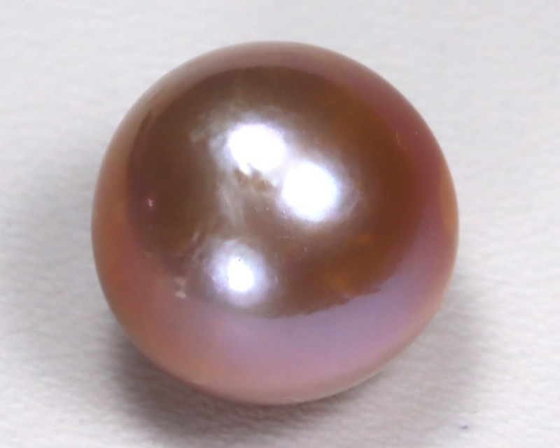 South Sea Pearl 11.6mm Natural Australian Purple Salt Water Pearl B1021