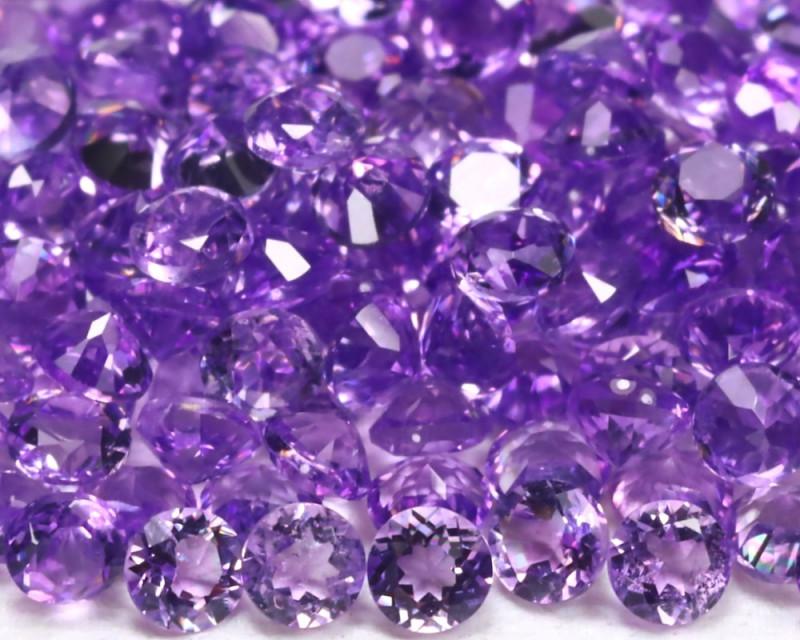 Amethyst 3.03Ct Calibrate 1.5mm Natural Purple Amethyst Lot B1031