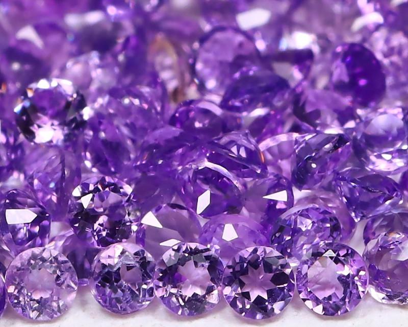Amethyst 3.24Ct Calibrate 1.5mm Natural Purple Amethyst Lot B959
