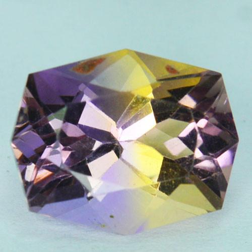 ~CUSTOM CUT~ 4.45 Cts Natural Bi-Color Ametrine Fancy  Bolivia