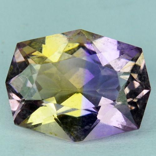 ~CUSTOM CUT~ 2.77 Cts Natural Bi-Color Ametrine Fancy  Bolivia