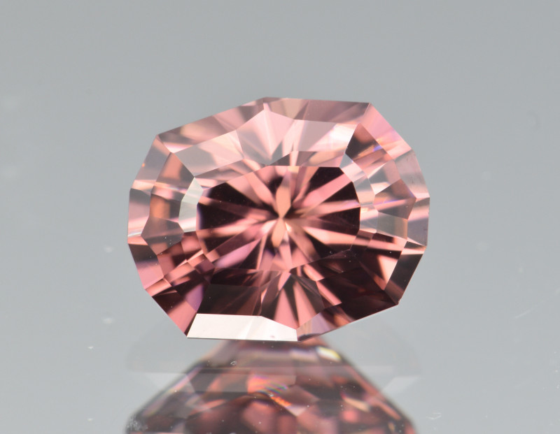 Natural  Zircon 2.95 Cts Precision Cut Gemstone
