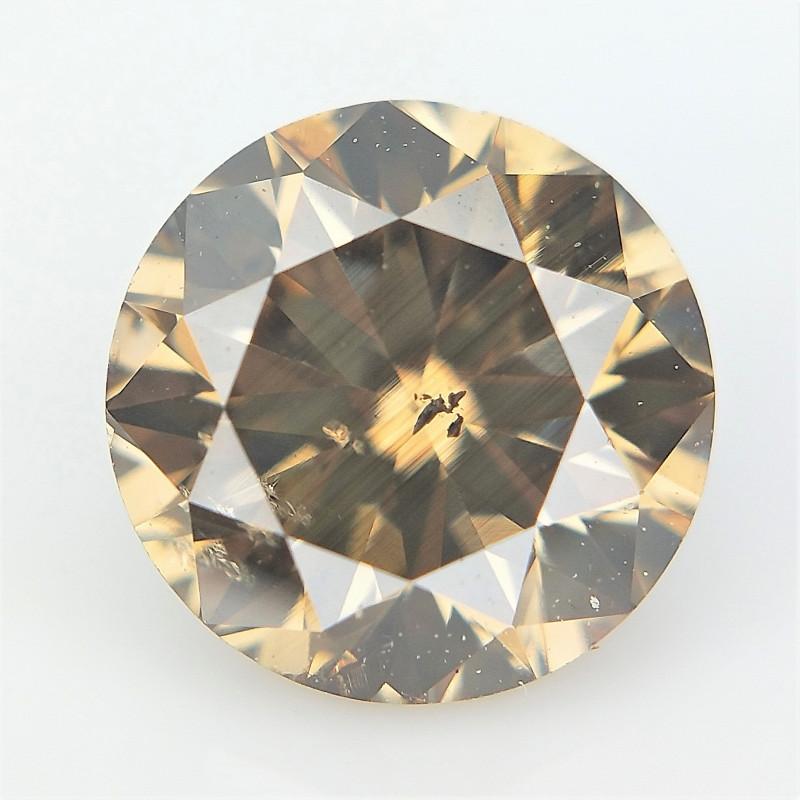 0.69 CTS ,  Dark Brown Natural Diamond ,Diamond for Jewelry