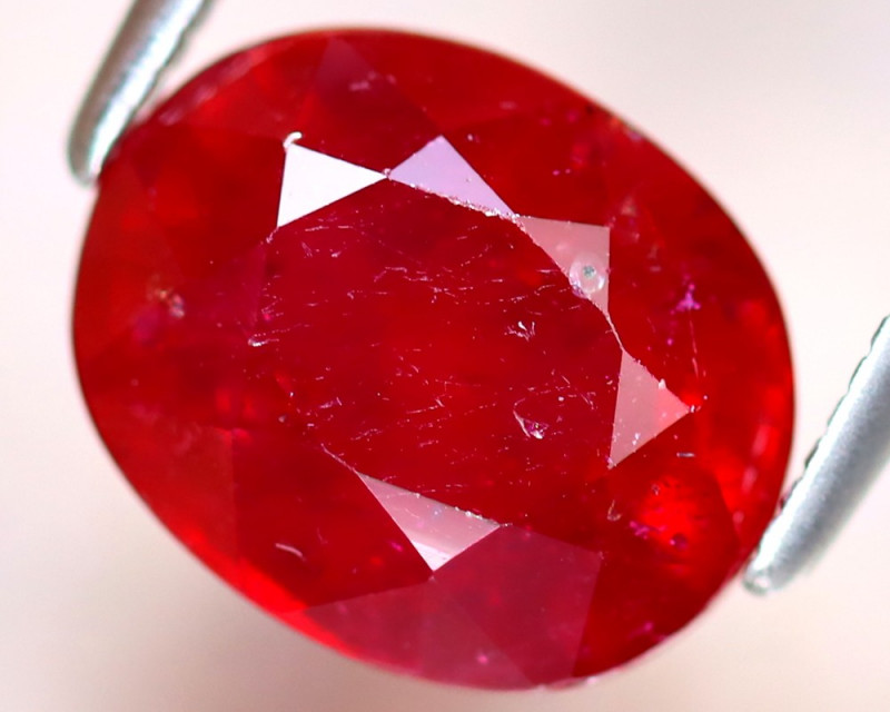 Ruby 4.24Ct Madagascar Blood Red Ruby DF2117/A20