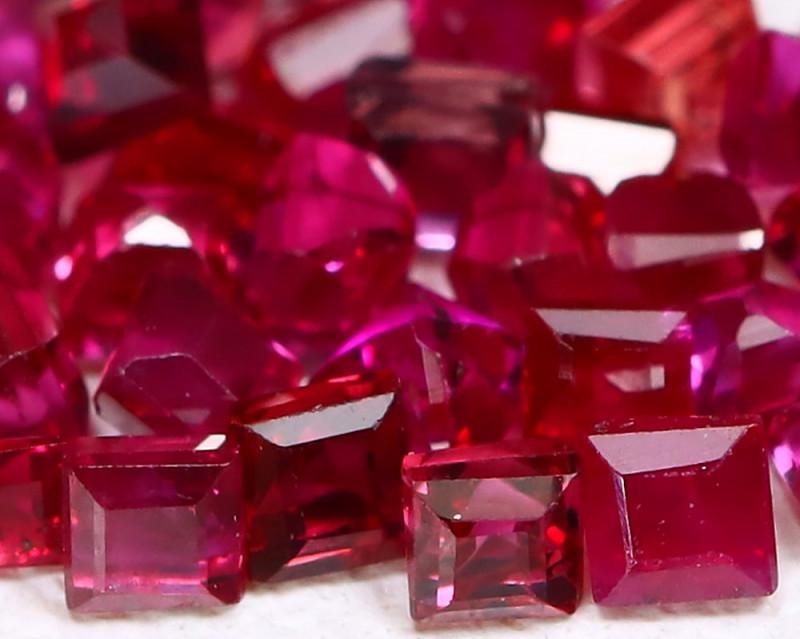 2.02Ct 1.9mm Burmese Ruby Natural Blood Red Ruby B1311