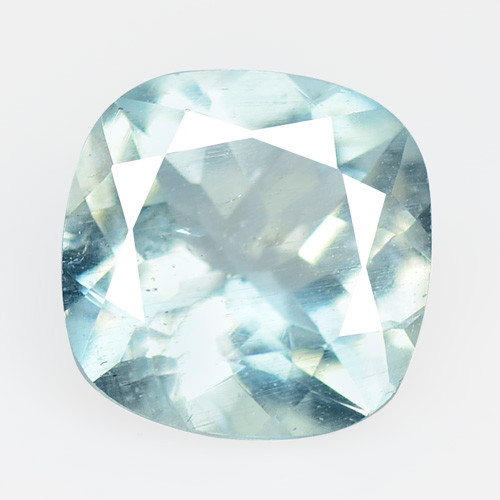 Aquamarine 1.82 Cts Un Heated Blue Natural Loose Gemstone