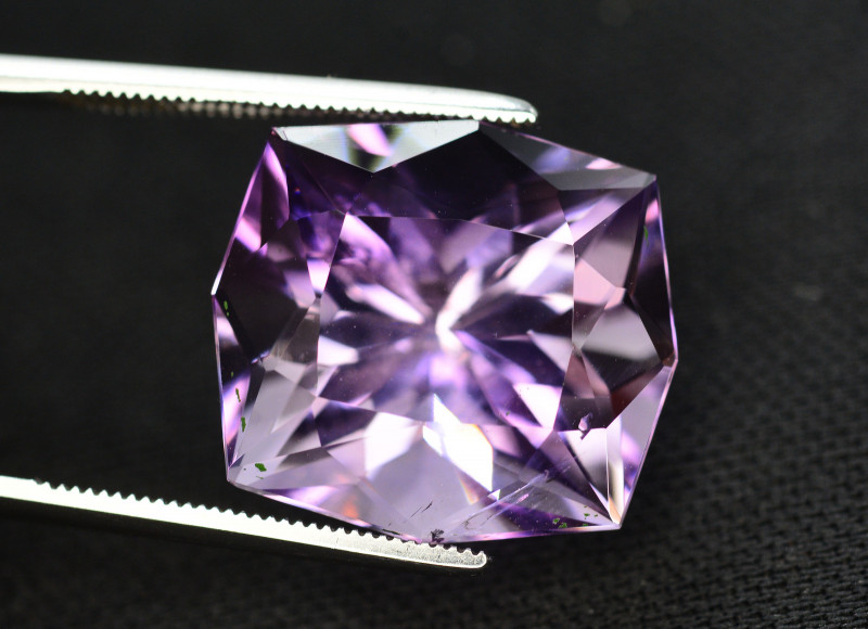 Quality Cutting 17.45 Ct Sparkling Color Natural Amethyst