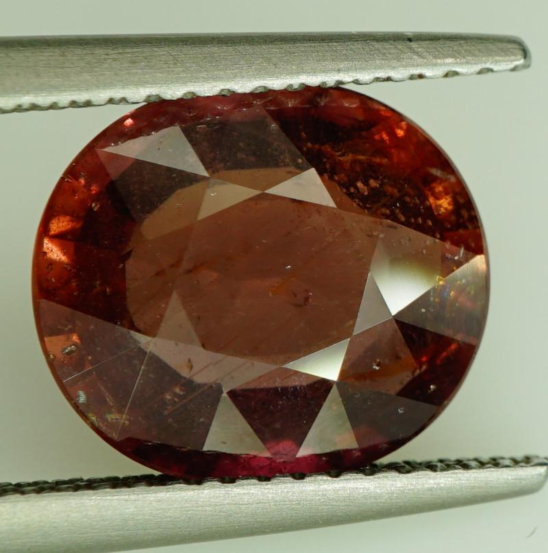 5.04 Ct. RARE COLOR! Natural BIG UNHEATED Sapphire Tanzania - ALGT Certific