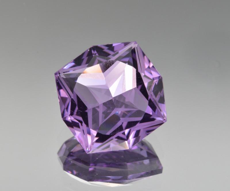 Natural  Amethyst 7.10 Cts Precision Cut Gemstone