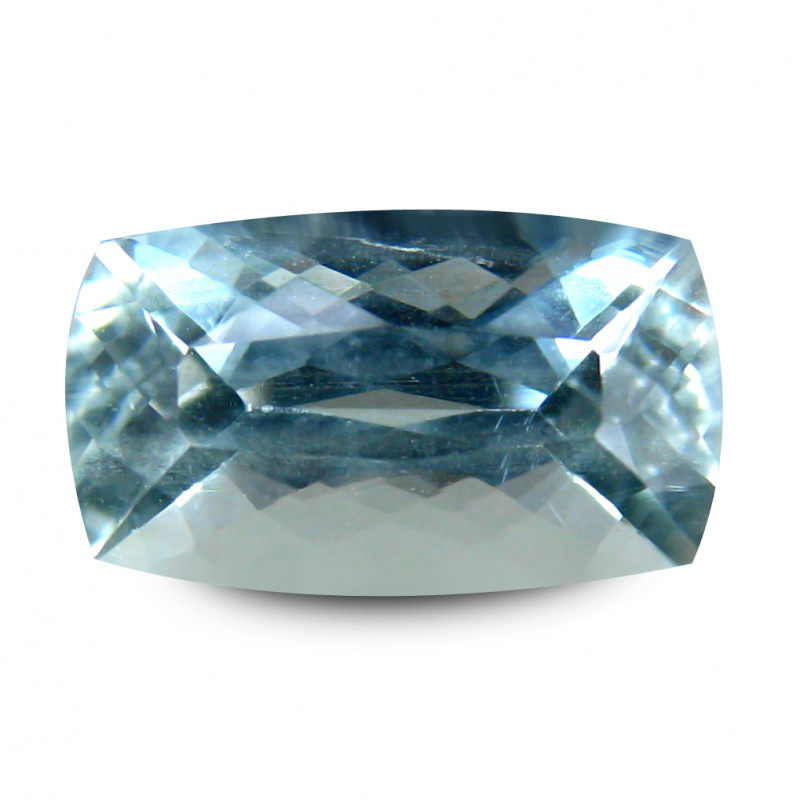 Indian Aquamarine 1.66 Cts Pastel Blue Portuguese Cut BGC614