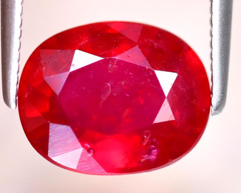 Ruby 3.54Ct Madagascar Blood Red Ruby EF2217/A20