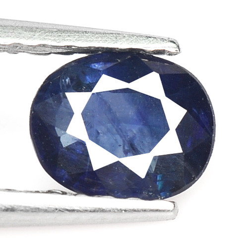 0.63 Cts Amazing Rare Natural Fancy Blue Sapphire Loose Gemstone